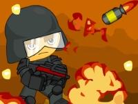 Флеш игра Спаси раненых, Солдат!