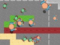 Флеш игра Спасите людей от зомби