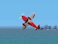 Флеш игра Спортивное пилотирование