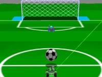Флеш игра Спортивные игры с пушкой 3D