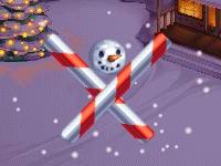 Флеш игра Спрячь снеговика