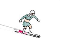 Флеш игра Спуск на сноуборде