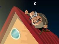 Флеш игра Спящий дедушка