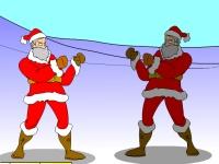 Флеш игра Сражение Санта Клаусов