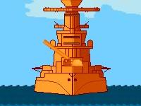 Флеш игра Сражение двух кораблей