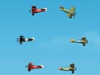 Флеш игра Сражения самолётов