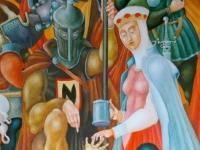 Флеш игра Средневековые картины: Скрытые предметы