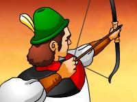 Флеш игра Средневековый лучник