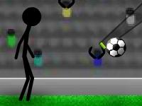 Флеш игра Стикмен играет в футбол 2