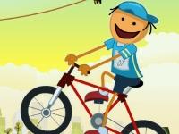 Флеш игра Стикмен на велосипеде