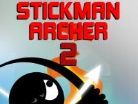 Флеш игра Стикмен с луком 2