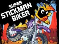 Флеш игра Стикмен супер байкер