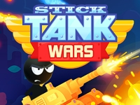 Флеш игра Стикмены на танках
