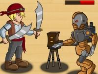 Флеш игра Стимпанк против пирата