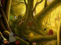 Флеш игра Странный лес: Поиск предметов