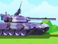 Флеш игра Стрельба из танка