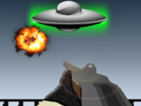 Флеш игра Стрельба по НЛО
