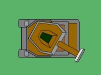 Флеш игра Стрельба по мишеням из танка