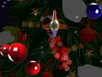 Флеш игра Стрельба по новогодним игрушкам
