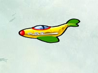 Флеш игра Стрельба по самолетам
