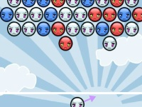 Флеш игра Стрельба по шарикам