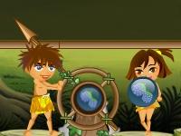 Флеш игра Стрельба в джунглях