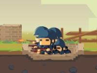 Флеш игра Стрелковый отряд
