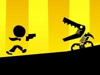 Флеш игра Стреляй и беги