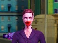 Флеш игра Стреляй по зомби