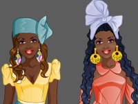 Флеш игра Студия моды: Африканский стиль