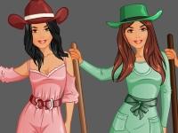 Флеш игра Студия моды: Деревенская девчонка