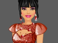 Флеш игра Студия моды: Дизайн шикарного платья