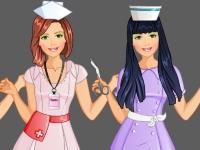 Флеш игра Студия моды: Халатик для медсестры