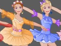Флеш игра Студия моды: Одеваем балерину