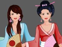 Флеш игра Студия моды: Шьем кимоно