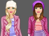 Флеш игра Студия моды: Зимний наряд