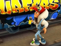 Флеш игра Subway Surfers