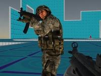 Флеш игра Сумасшедшая стрельба: Мультиплеер