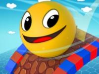 Флеш игра Сумасшедшие приключения шарика