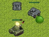 Флеш игра Сумасшедшие танки