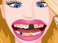 Флеш игра Сумасшедший дантист
