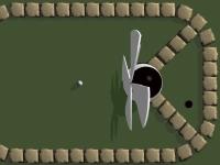 Флеш игра Сумасшедший гольф 2