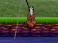 Флеш игра Сумасшедший рыбак