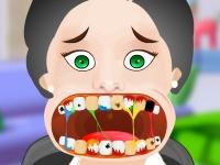 Флеш игра Сумасшедший стоматолог