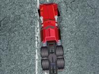 Флеш игра Сумасшедший водитель грузовика