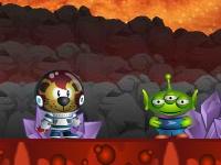 Флеш игра Супер Джулио 4: Инопланетные приключения
