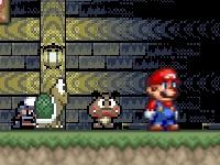 Флеш игра Супер Марио: Хэллоуин