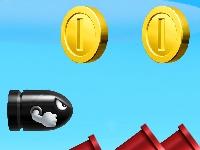 Флеш игра Супер Марио: Стрельба из пушки