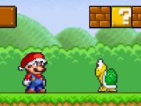 Флеш игра Супер Марио - спаси Санту