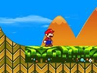 Флеш игра Супер Марио в мире Соника